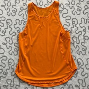 Lululemon Amber Orange Sculpt Tank